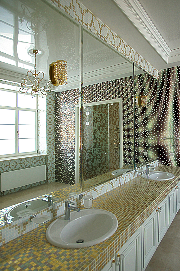 интерьер ванной - фото № 58081