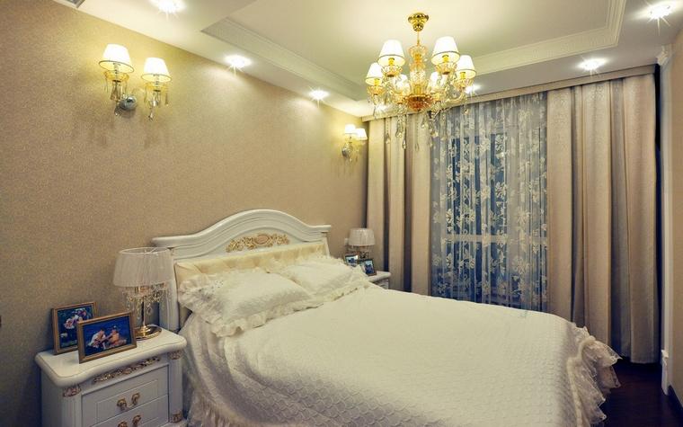 Фото № 58486 спальня  Загородный дом