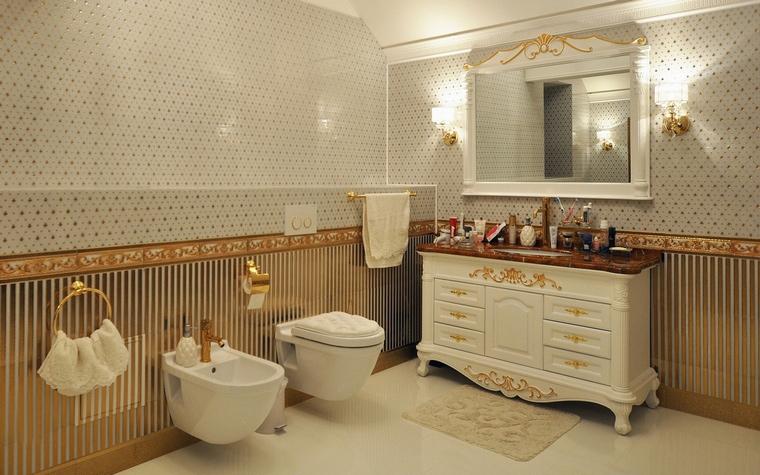 Фото № 58491 ванная  Загородный дом