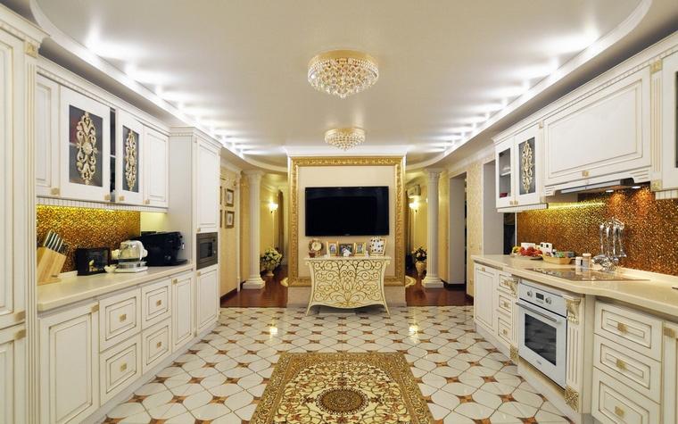 Фото № 58475 кухня  Загородный дом