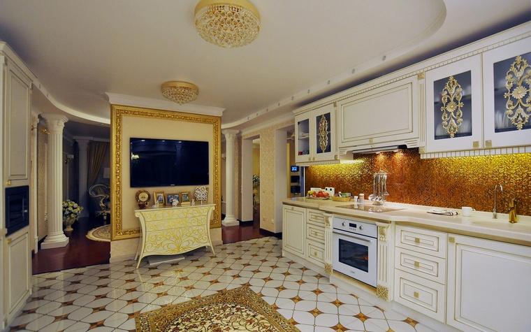 Фото № 58477 кухня  Загородный дом