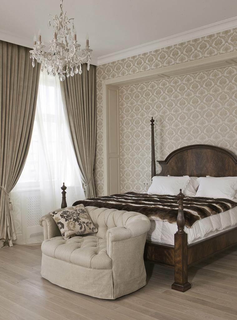 интерьер спальни - фото № 58677