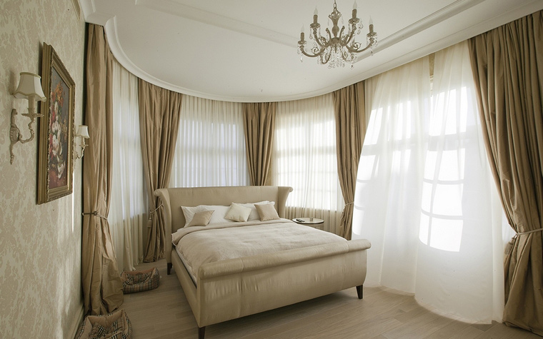 интерьер спальни - фото № 58678