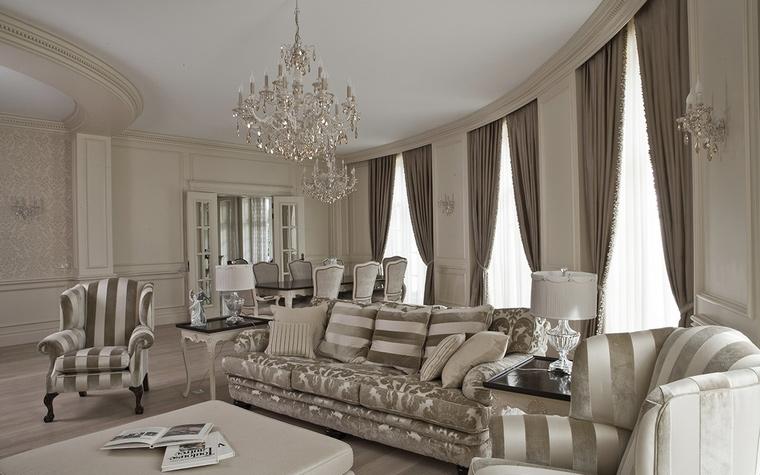 интерьер гостиной - фото № 58672