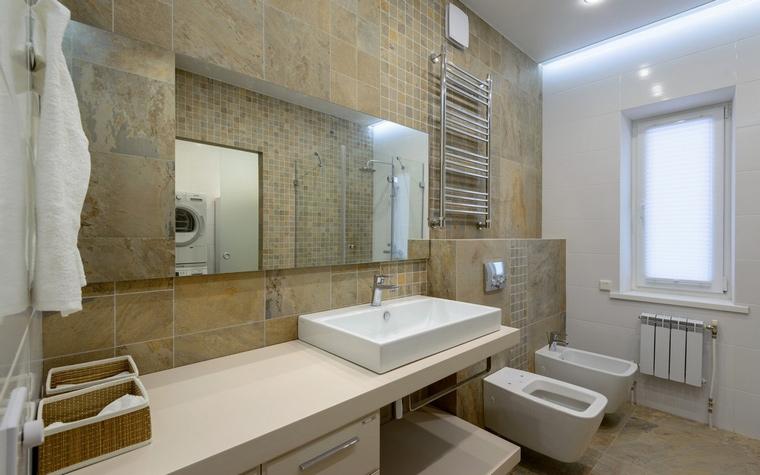 Загородный дом. ванная из проекта , фото №59190