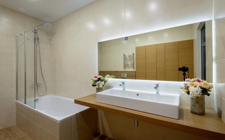Загородный дом. ванная из проекта , фото №59183