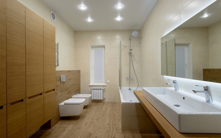 Загородный дом. ванная из проекта , фото №59185