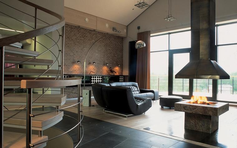 Загородный дом. гостиная из проекта , фото №60471