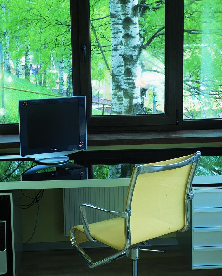 Загородный дом. спальня из проекта , фото №60476