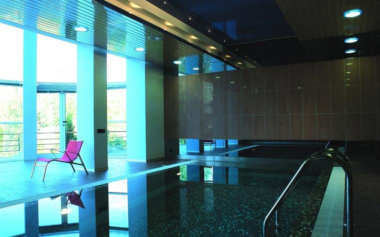 Загородный дом. бассейн из проекта , фото №60479