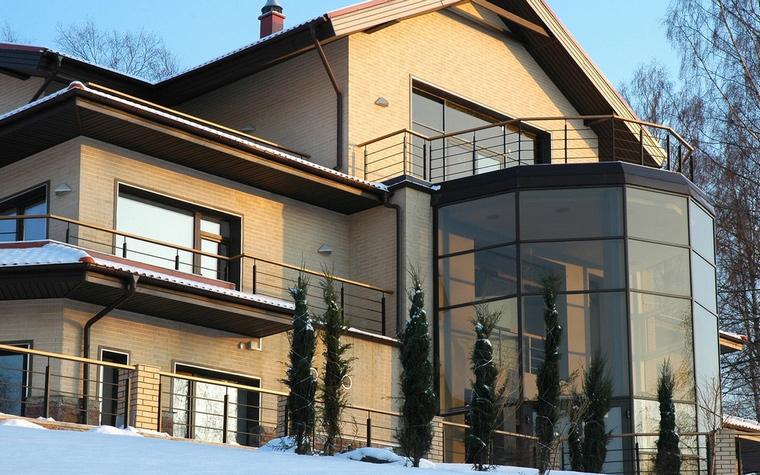 Загородный дом. фасад из проекта , фото №60482