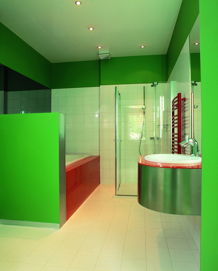 Загородный дом. ванная из проекта , фото №60477