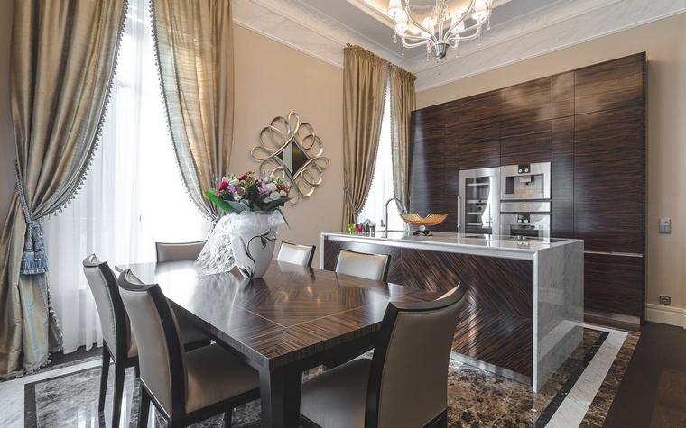 Фото № 59557 кухня  Загородный дом
