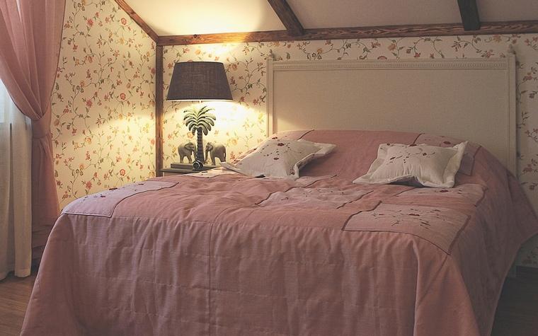 Фото № 59940 спальня  Загородный дом