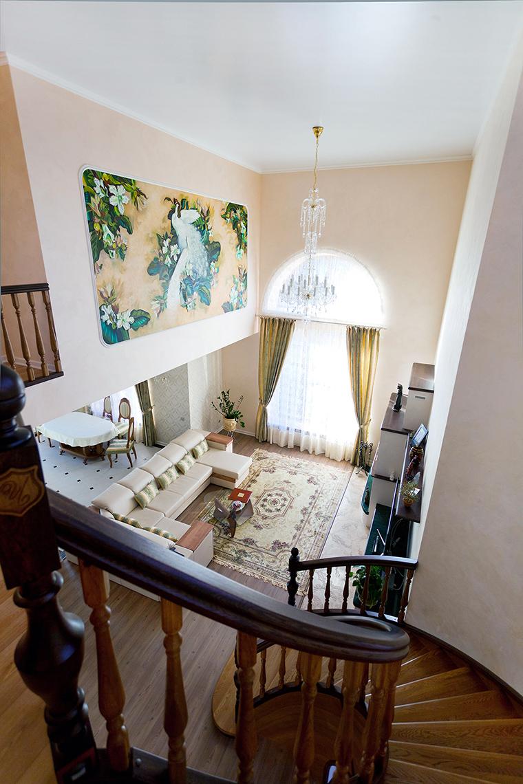 Загородный дом. холл из проекта , фото №60244