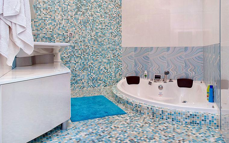Загородный дом. ванная из проекта , фото №60241