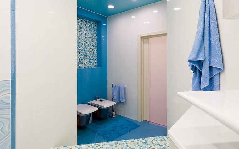 Загородный дом. ванная из проекта , фото №60239