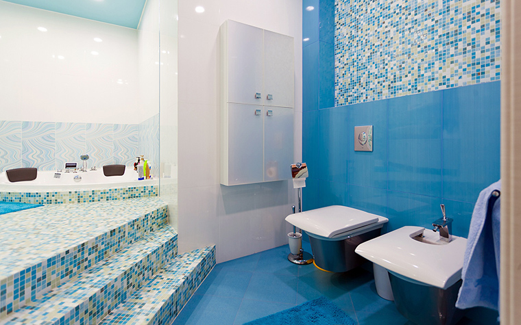 Загородный дом. ванная из проекта , фото №60240