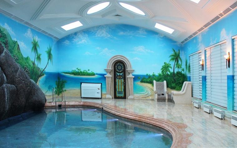 интерьер бассейна - фото № 60555