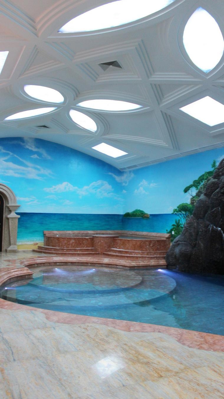 Загородный дом. бассейн из проекта , фото №60556