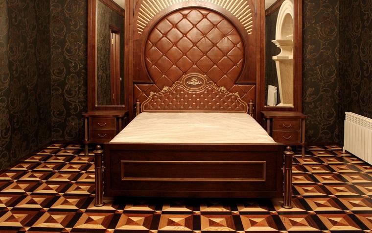 Фото № 60546 спальня  Загородный дом