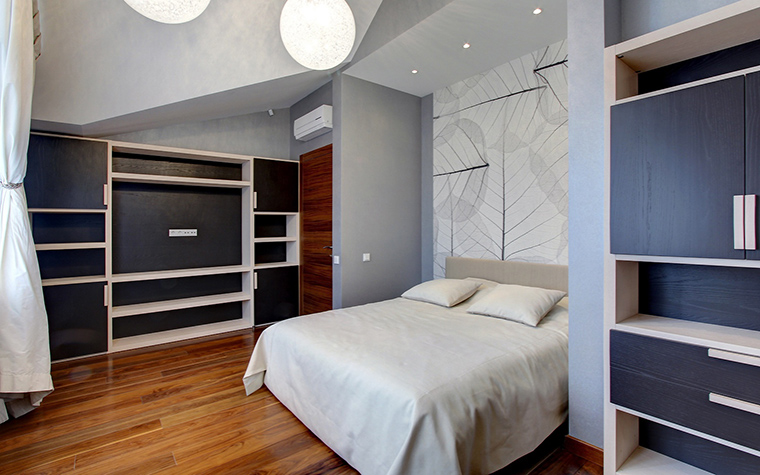 интерьер спальни - фото № 60640