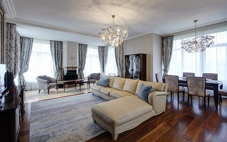 интерьер гостиной - фото № 60641