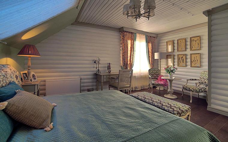 Фото № 60816 спальня  Загородный дом