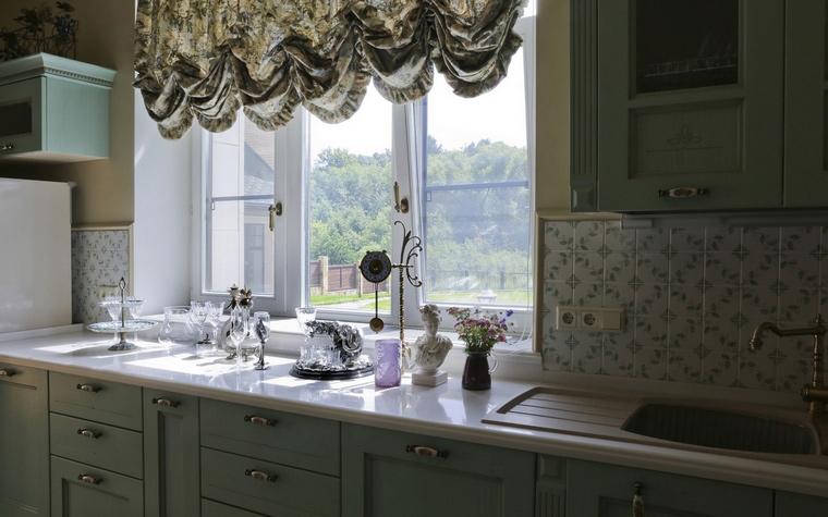 Фото № 60975 кухня  Загородный дом