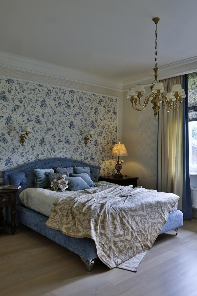 Фото № 60977 спальня  Загородный дом