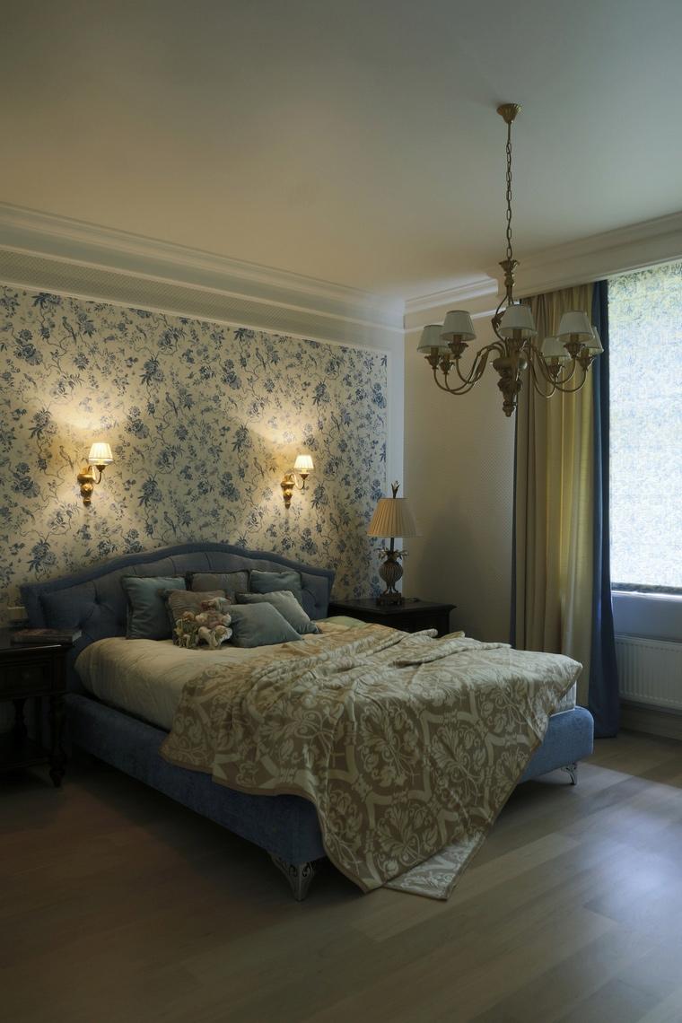 Фото № 60978 спальня  Загородный дом