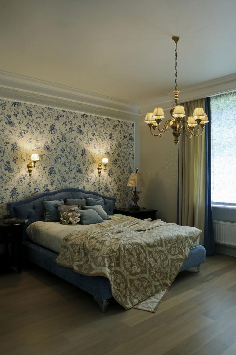 Фото № 60979 спальня  Загородный дом