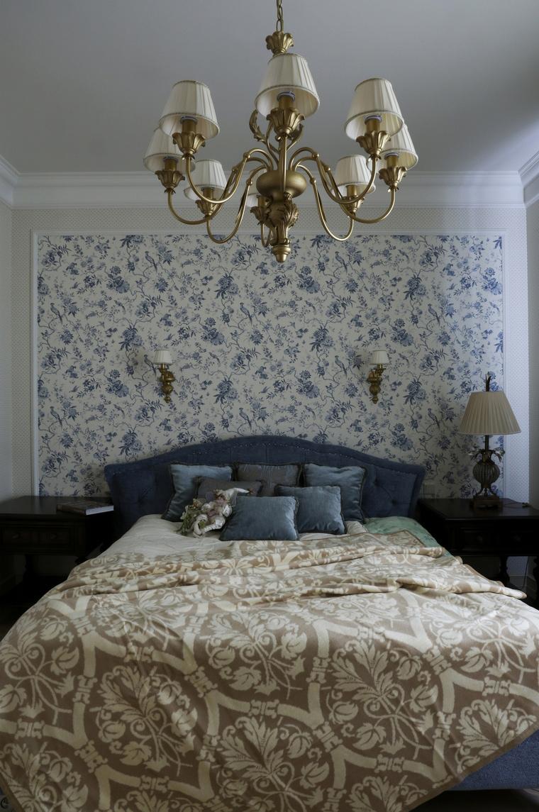 Фото № 60981 спальня  Загородный дом