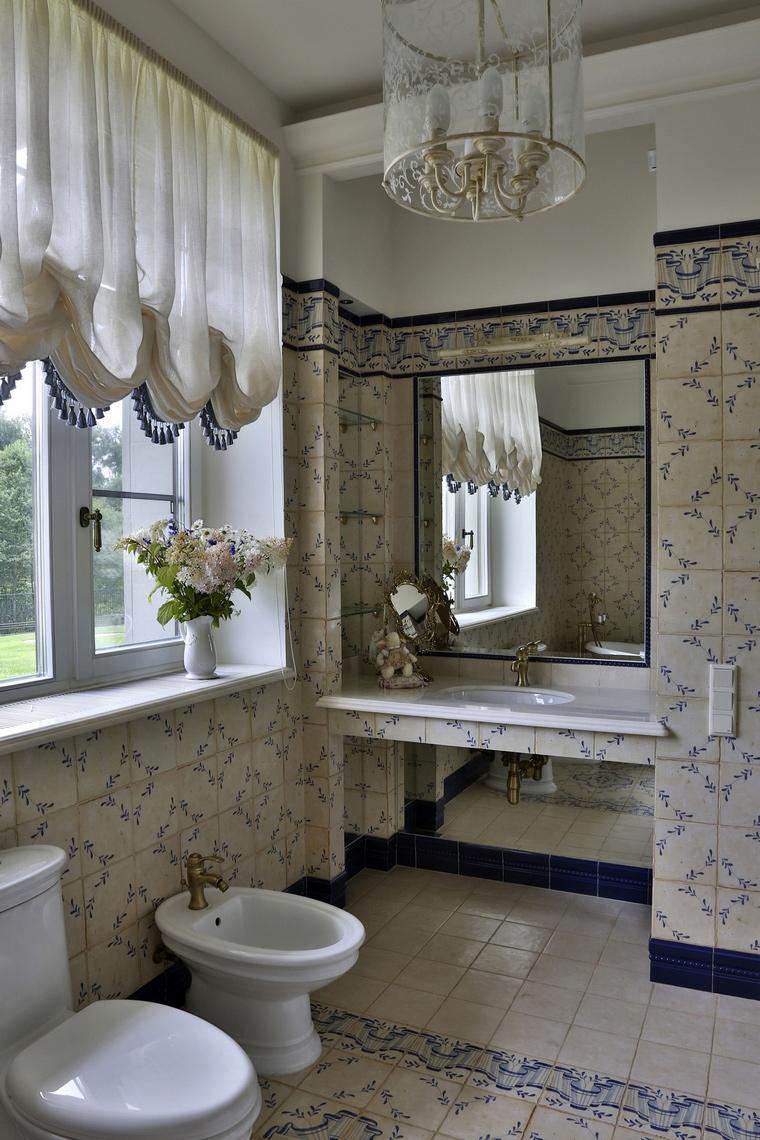 Фото № 60982 ванная  Загородный дом