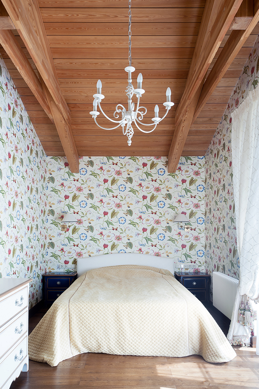 Фото № 61013 спальня  Загородный дом