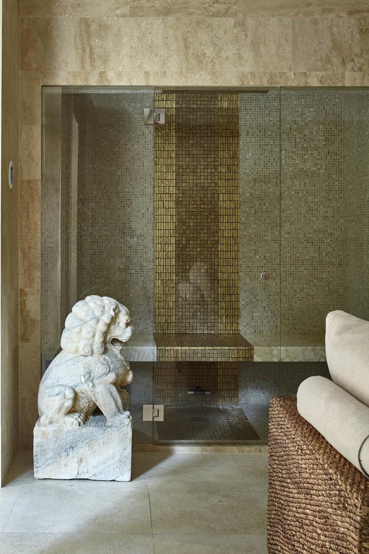 Загородный дом. ванная из проекта , фото №61069