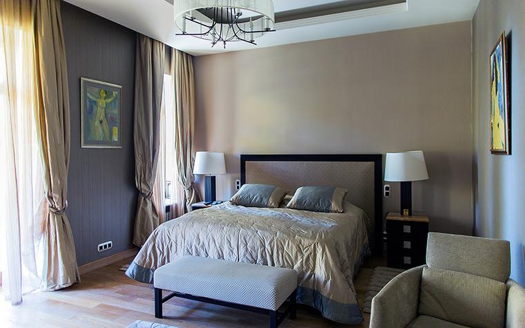 Фото № 61059 спальня  Загородный дом