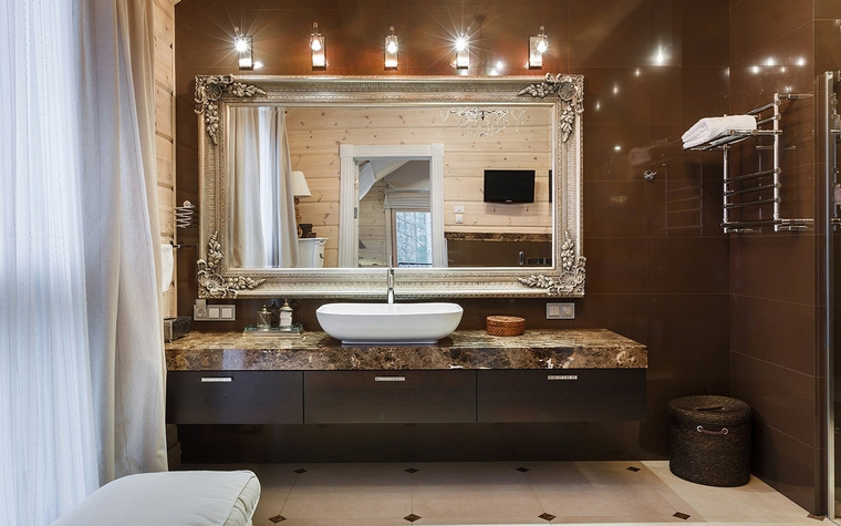 Фото № 61144 ванная  Загородный дом