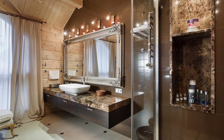 Фото № 61145 ванная  Загородный дом