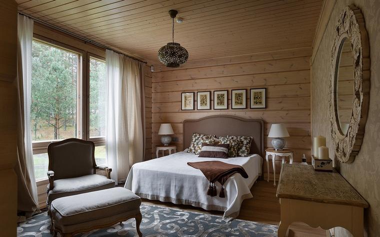Фото № 61127 спальня  Загородный дом