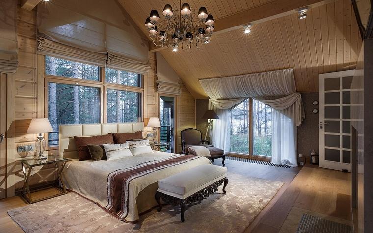 Фото № 61132 спальня  Загородный дом