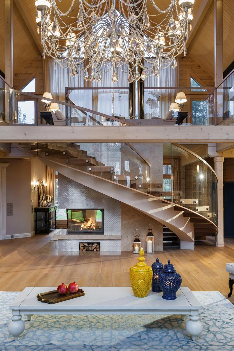 интерьер гостиной - фото № 61108