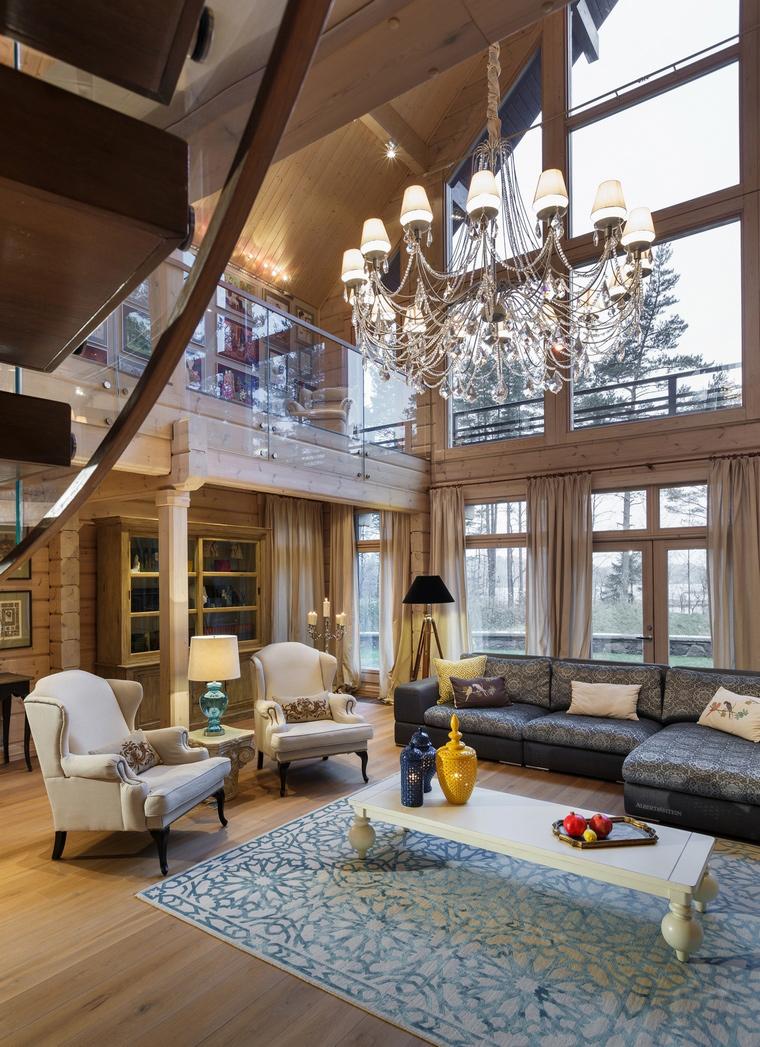 интерьер гостиной - фото № 61111