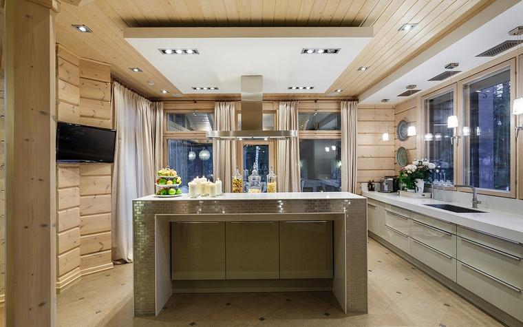 Фото № 61125 кухня  Загородный дом