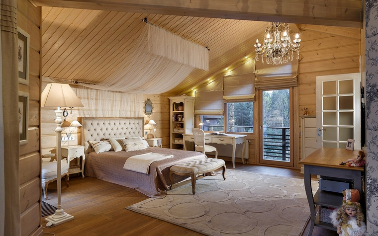интерьер спальни - фото № 61137