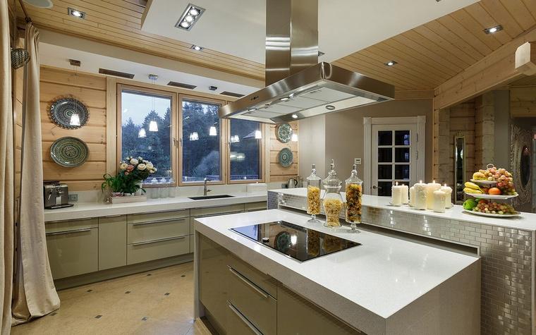 Фото № 61126 кухня  Загородный дом