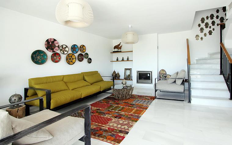 интерьер гостиной - фото № 61267