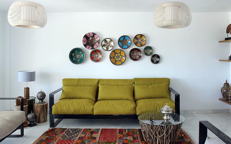 интерьер гостиной - фото № 61265