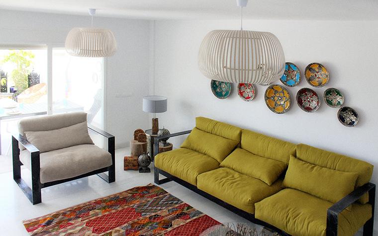 интерьер гостиной - фото № 61266