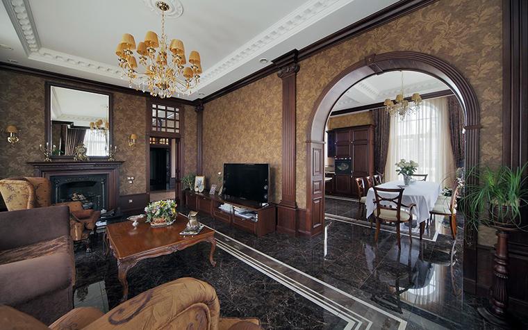 интерьер гостиной - фото № 61490